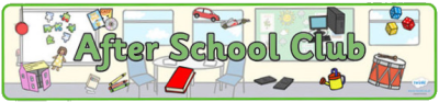 After School Club Banner