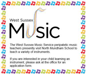 Music Service Flyer